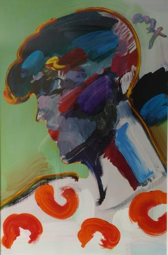 Palm Beach Lady, art for sale online by Peter Max