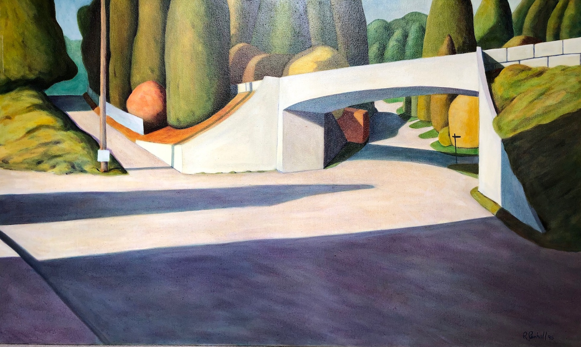 West Bay Turnaround artwork by Ross Penhall - art listed for sale on Artplode