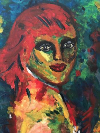 Faces, art for sale online by Nahla Al Marzooqi