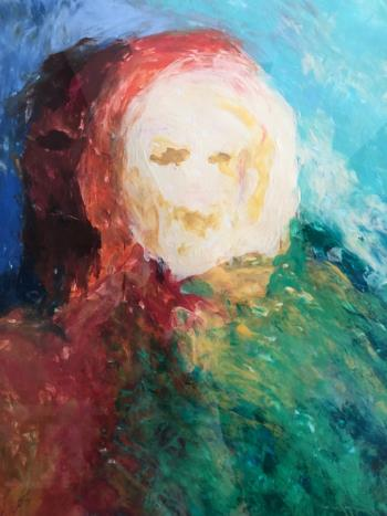 Faces artwork by Nahla Al Marzooqi - art listed for sale on Artplode