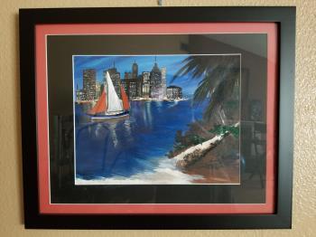 Sail On By artwork by Tammy Bijou