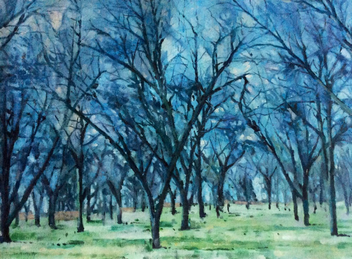 From my window artwork by Mik Goben - art listed for sale on Artplode