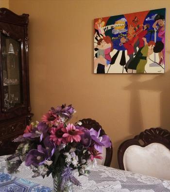 Jazz The Night Away artwork by Tammy Bijou