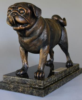 Life Size Pug, art for sale online by Todd Lane