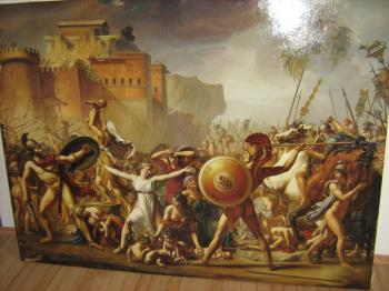 The Intervention of the Sabine Women artwork by Damian Licenzo
