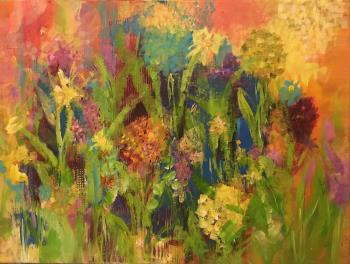Meadow Meditations, art for sale online by Carol Patch