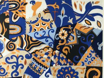 Hoop Tam Number 4 artwork by Tanupon En On - art listed for sale on Artplode