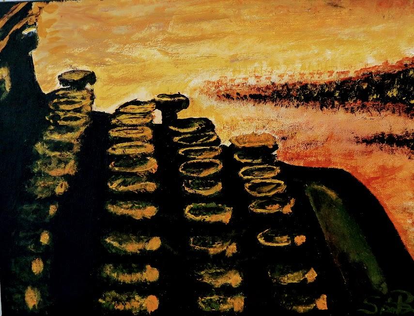 Typewriter in E Minor artwork by Spencer Christensen - art listed for sale on Artplode