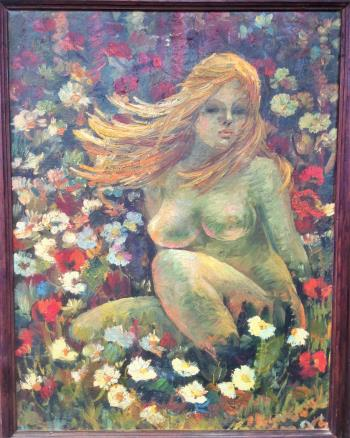 SPRING, art for sale online by Eva Kudukhashvili