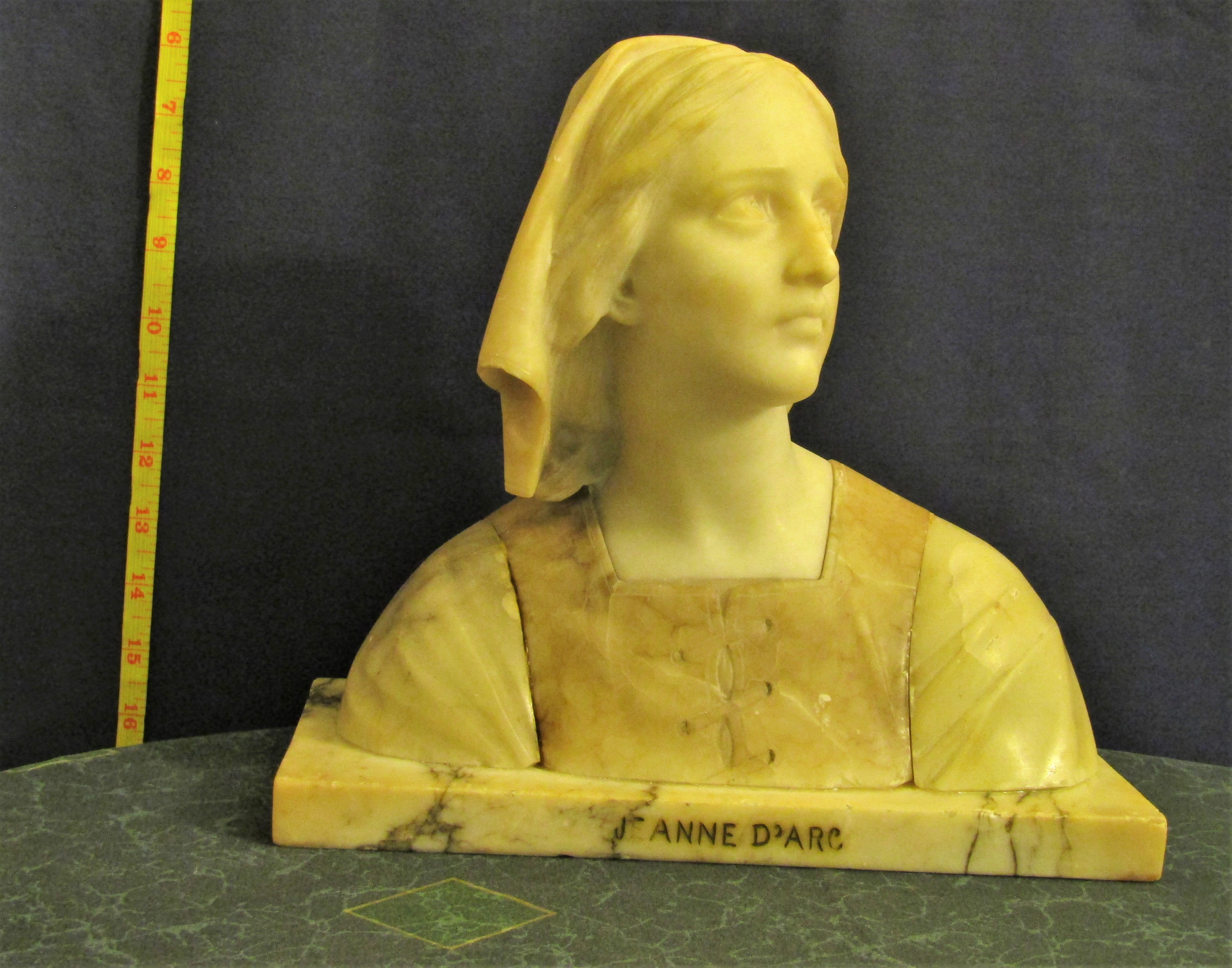 Joan of Arc artwork by Professor Giuseppe Bessi - art listed for sale on Artplode