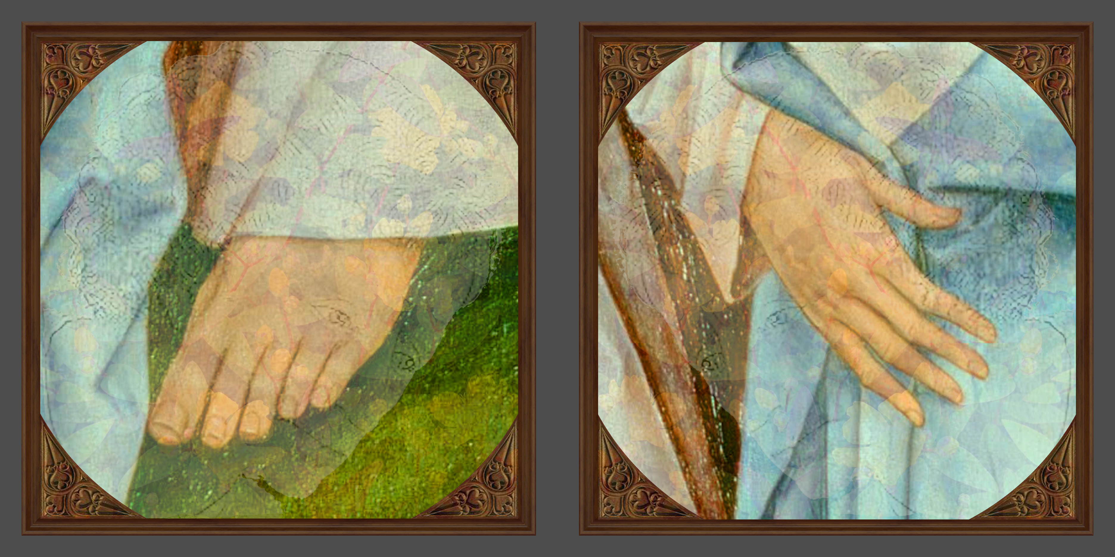 Taking Care artwork by F T Kettering - art listed for sale on Artplode