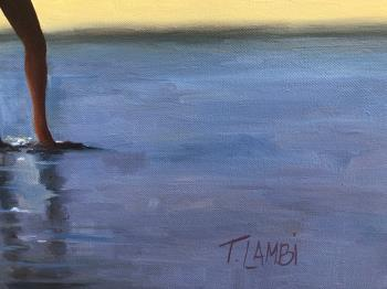 Secrets of Summer artwork by Trisha Lambi - art listed for sale on Artplode