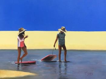 Secrets of Summer, art for sale online by Trisha Lambi
