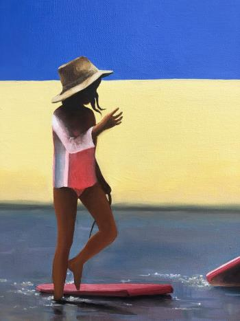 Secrets of Summer artwork by Trisha Lambi