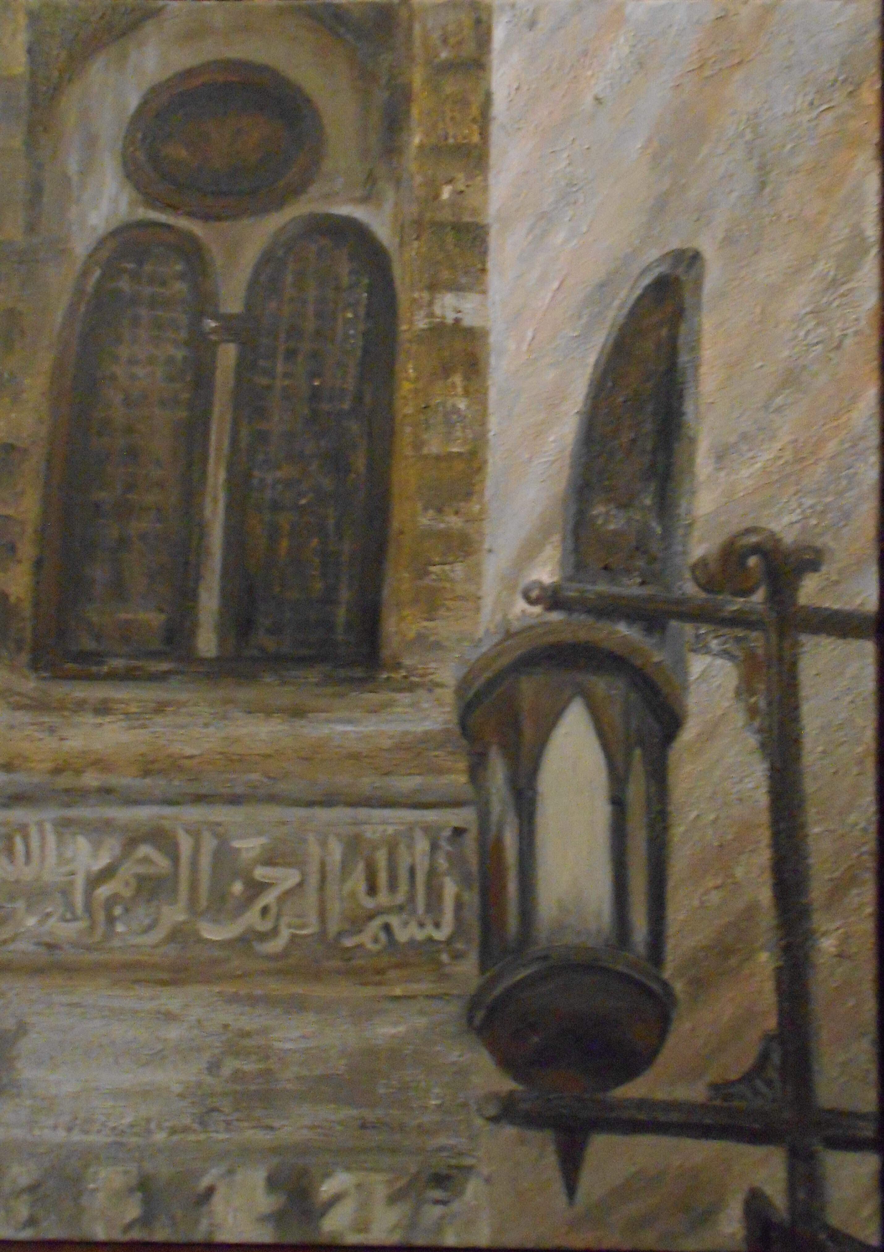 Mashrabeya  artwork by Sherine Balbaa - art listed for sale on Artplode
