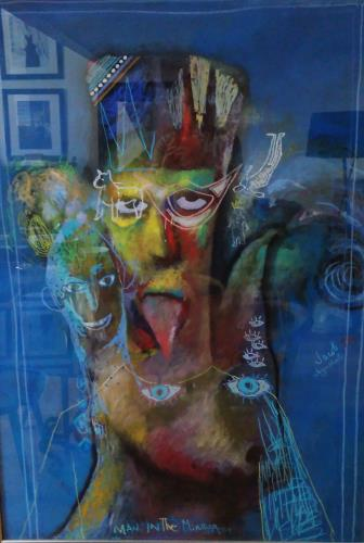Man In The Mirror, art for sale online by Jacob Jugashvili