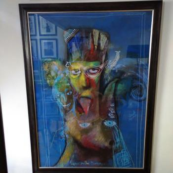 Man In The Mirror artwork by Jacob Jugashvili - art listed for sale on Artplode