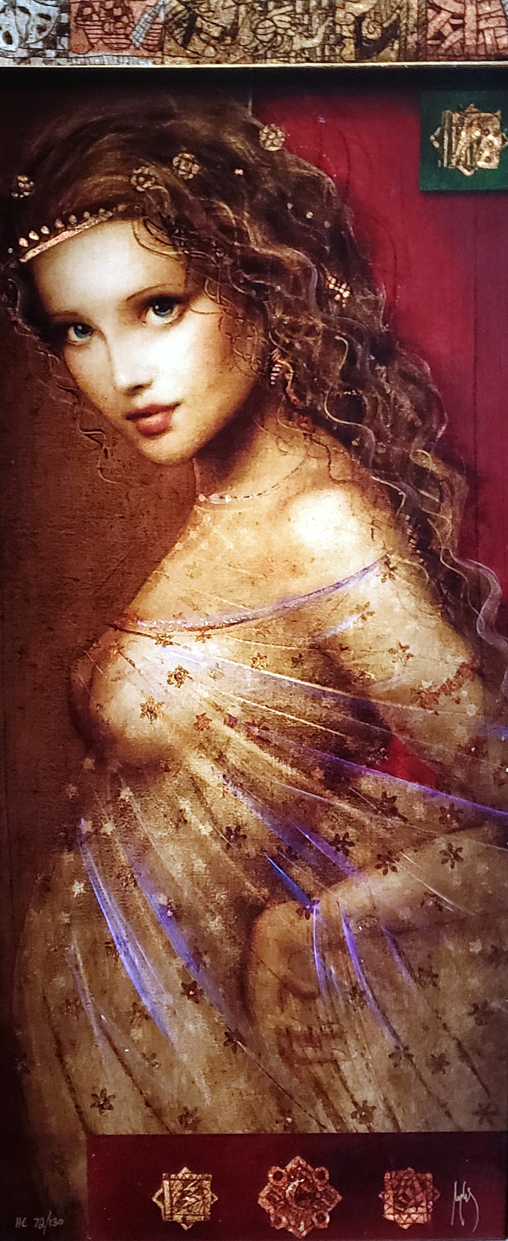 La Liciana artwork by Csaba Markus - art listed for sale on Artplode