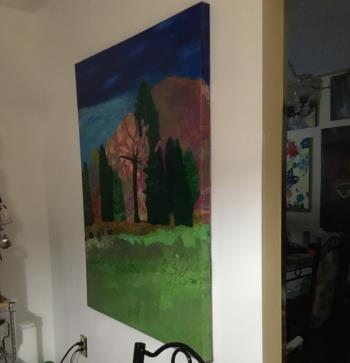 Enchanted Forest  artwork by Tracy Heslop