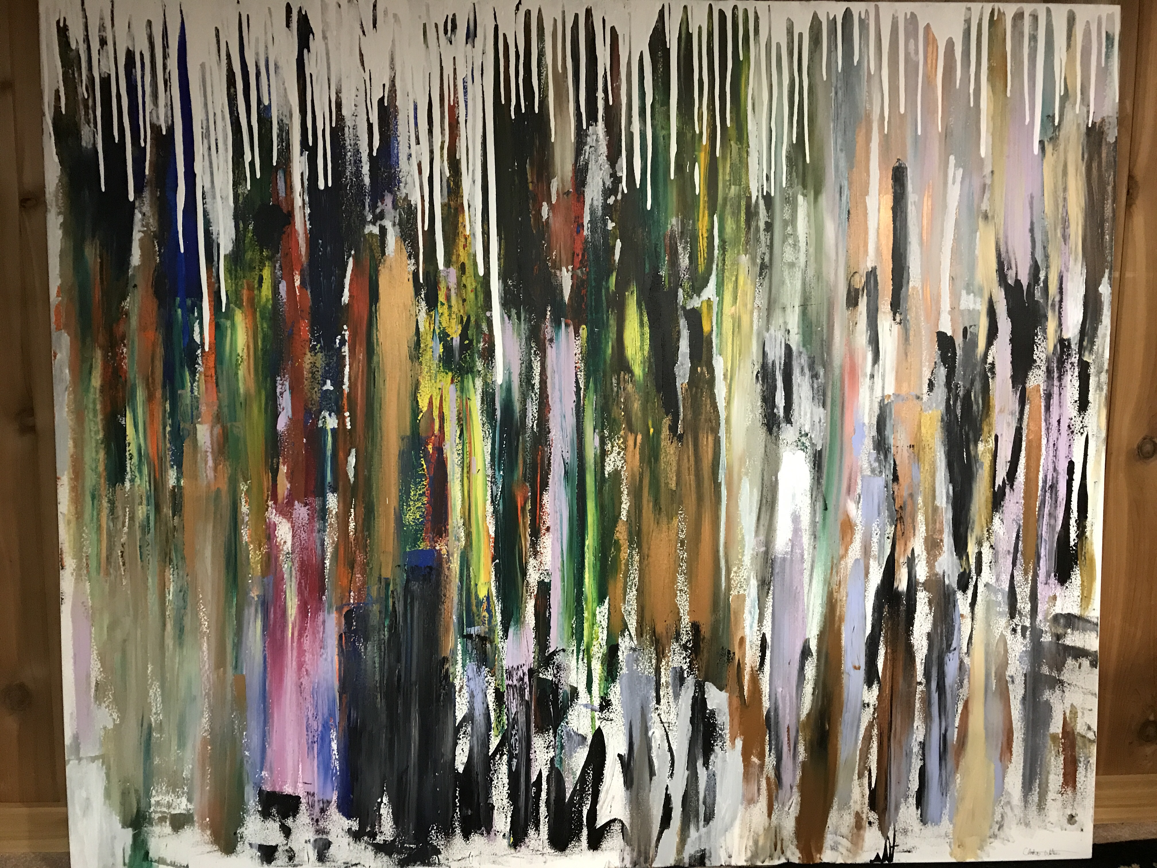 Winters End artwork by Christian Watson - art listed for sale on Artplode