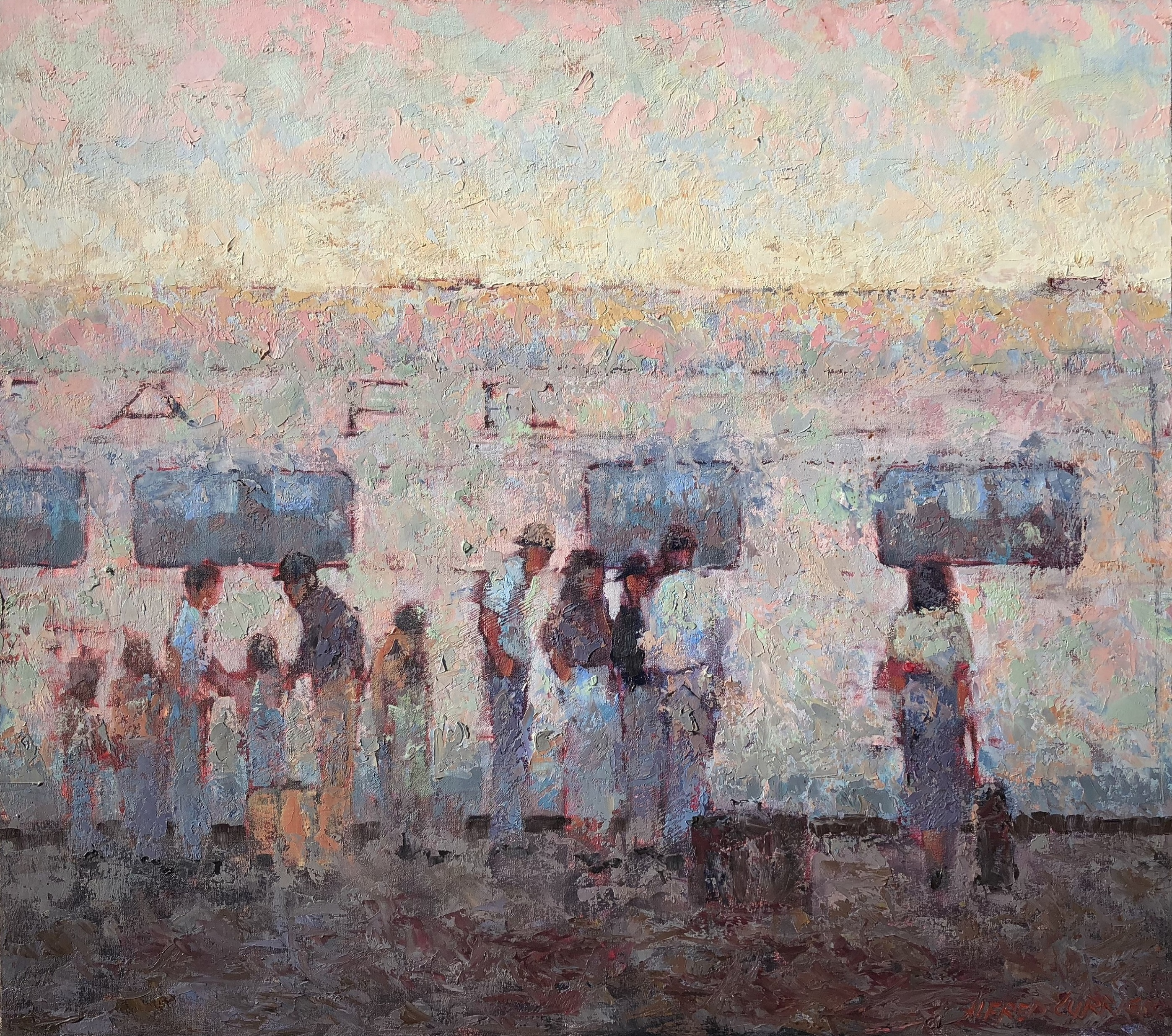 New Beginnings artwork by Alfred Currier - art listed for sale on Artplode
