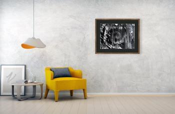 Wheel artwork by Tamal Sen Sharma - art listed for sale on Artplode