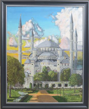 Blue Mosque artwork by James Lowery
