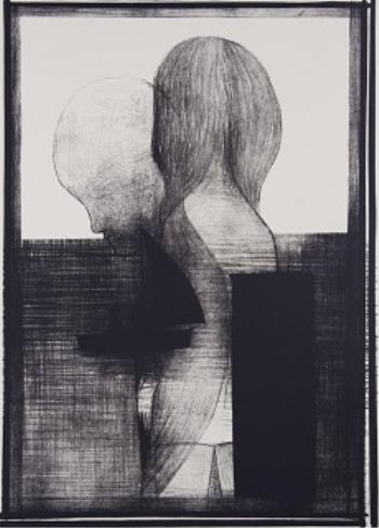 Passage, art for sale online by Charles Blackman