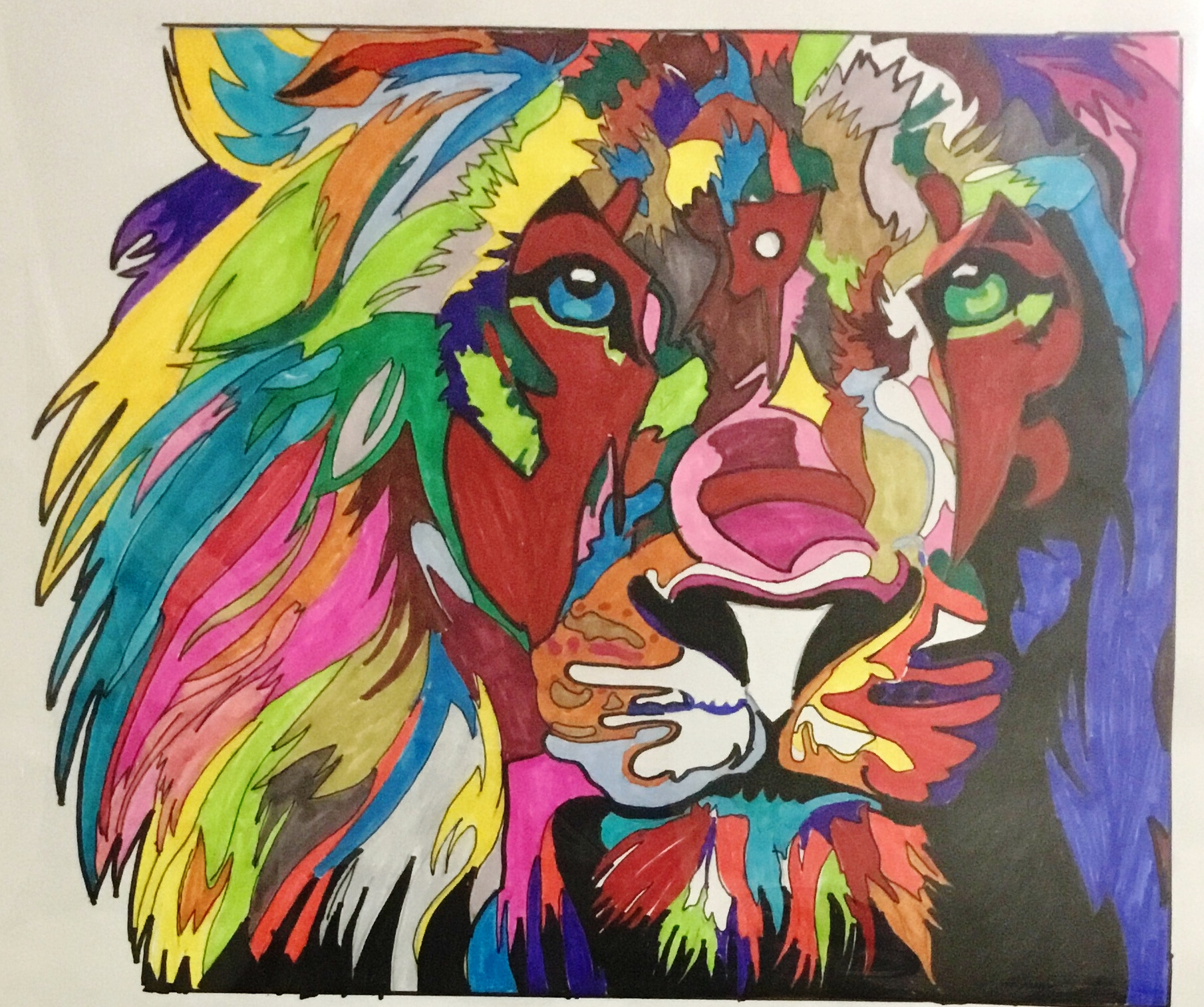 Pride Within artwork by Karim Callwood - art listed for sale on Artplode