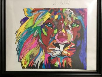 Pride Within, art for sale online by Karim Callwood