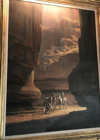 Apache Canyon artwork by Charles H Pabst