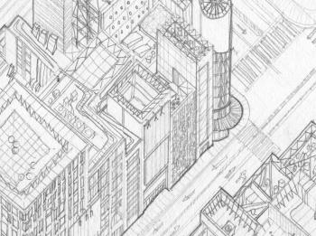 Ginza Tokyo artwork by Johnathon Smith - art listed for sale on Artplode