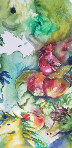 Abstract Horses artwork by Kim Shuckhart Gunns