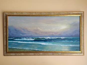 Breath of the sea artwork by Zigmars Grundmanis