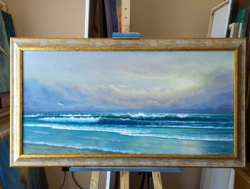 Breath of the sea artwork by Zigmars Grundmanis - art listed for sale on Artplode