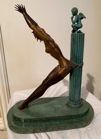 Prisoner of Love, art for sale online by Romain de Tiroff Erte