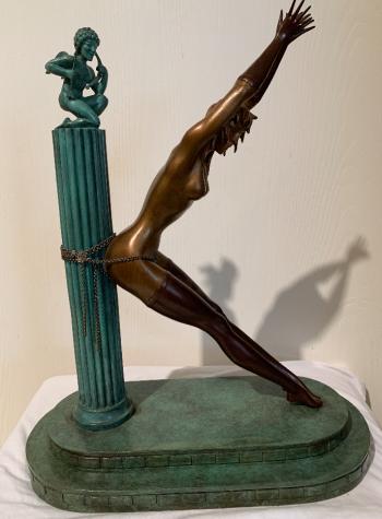 Prisoner of Love artwork by Romain de Tiroff Erte - art listed for sale on Artplode