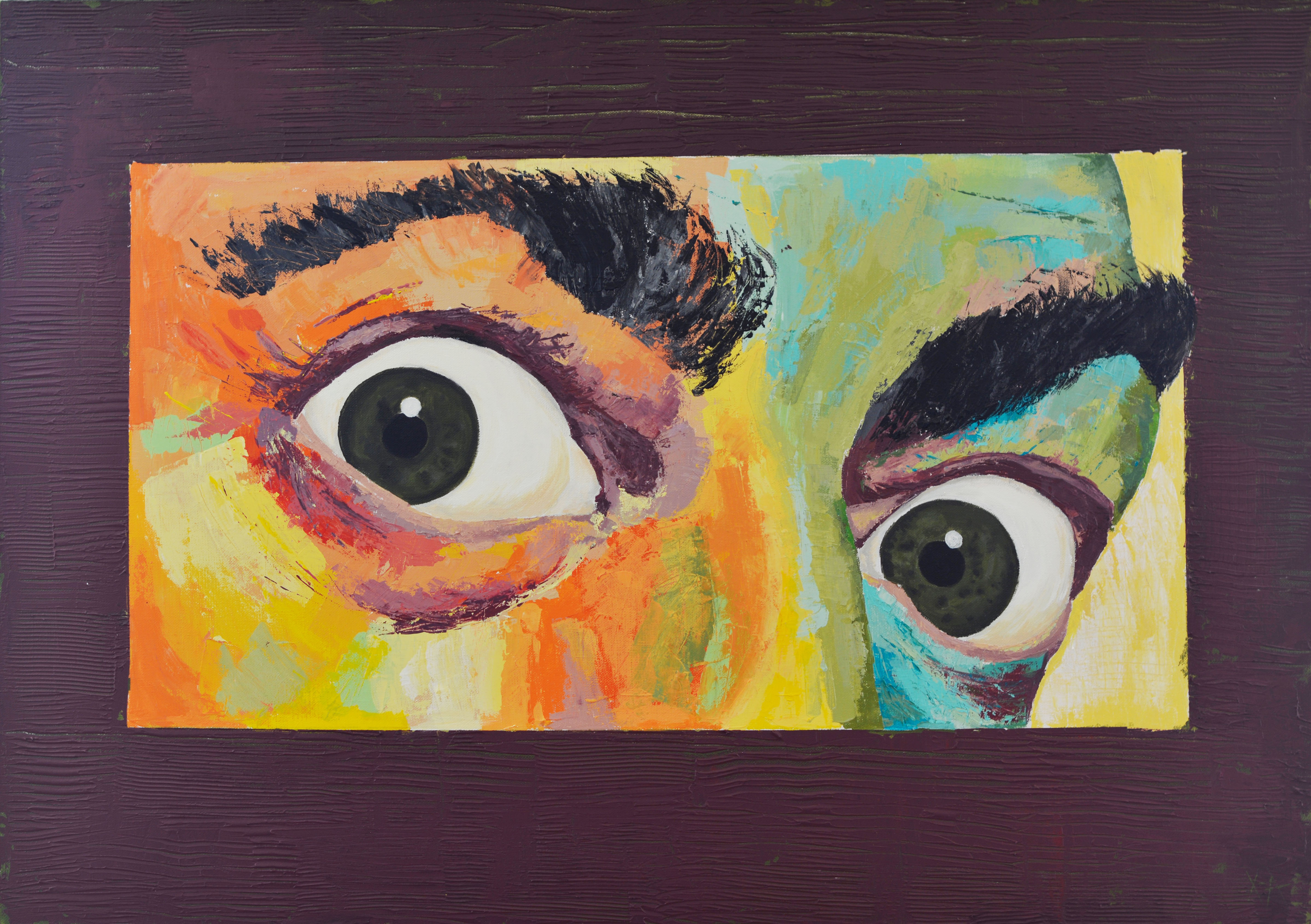 Salvador Dali The Eyes Of The Genius  artwork by Hristina Dinkova - art listed for sale on Artplode