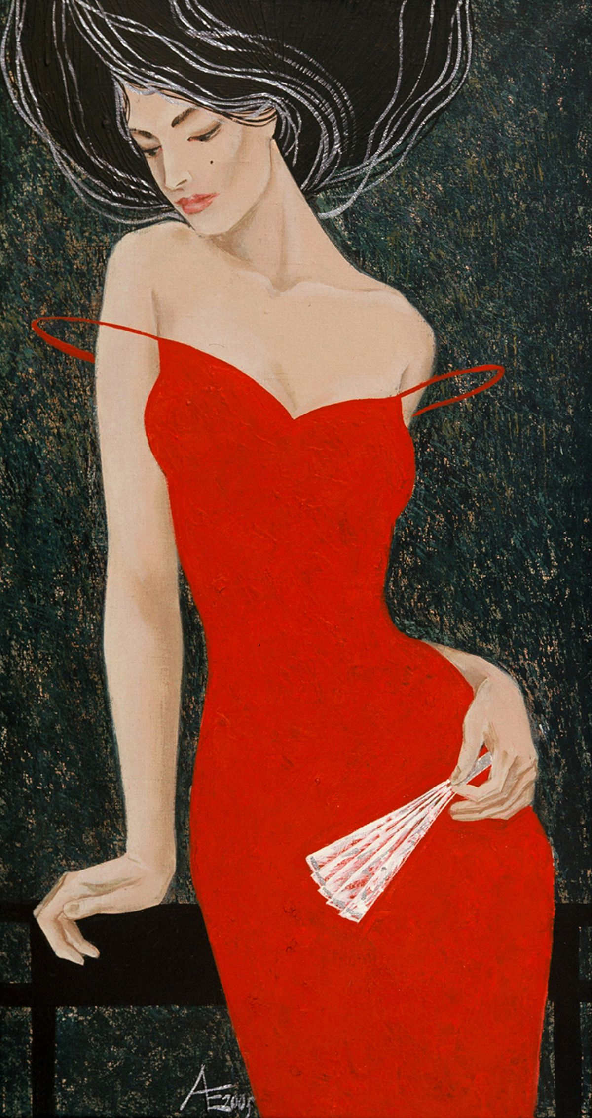 Anticipation of Love artwork by Ekaterina Abramova - art listed for sale on Artplode