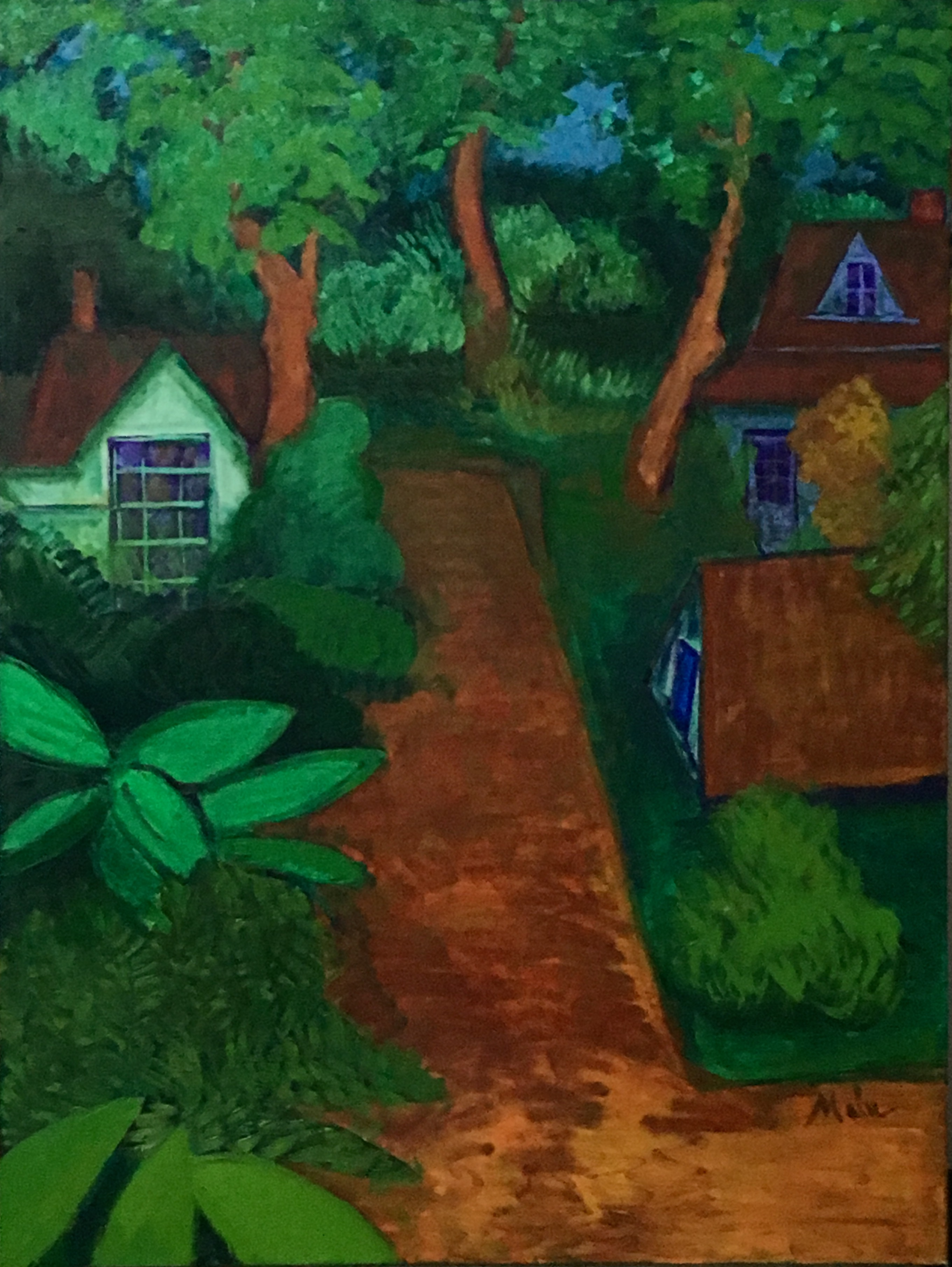 O Jardim The Garden artwork by Malu Ribeiro - art listed for sale on Artplode