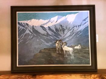 Mountain Goat artwork by William Schumpert