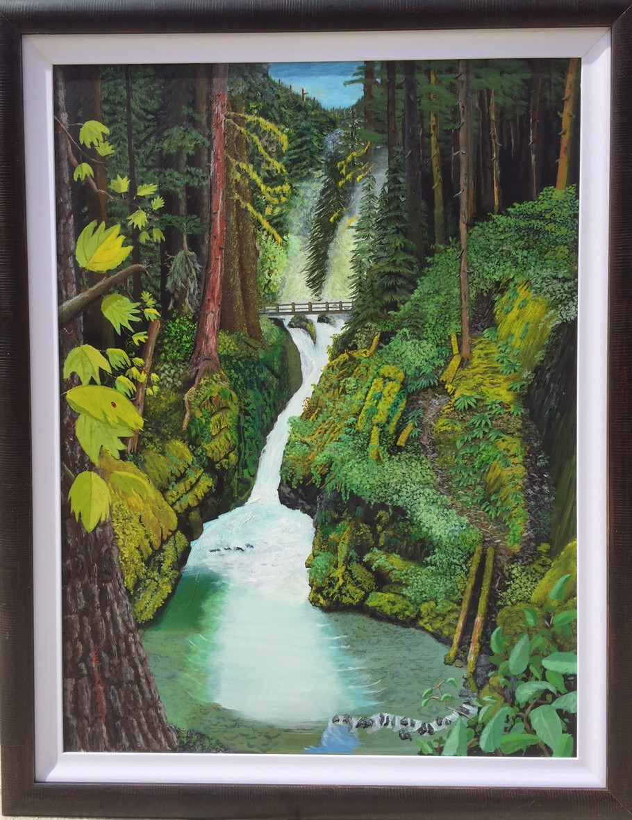 Sol Duc artwork by James Lowery - art listed for sale on Artplode