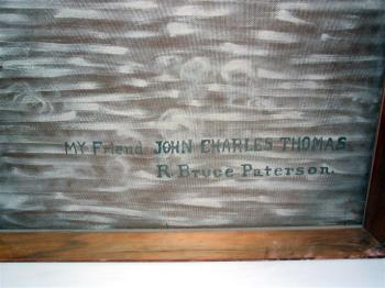 John Charles Thomas artwork by R Bruce Paterson - art listed for sale on Artplode