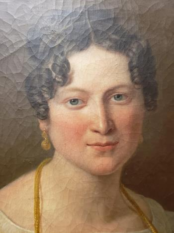 Portrait of a Woman artwork by Julie Ribault