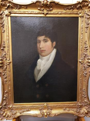 Portrait of a Gentleman, art for sale online by 19th century artist