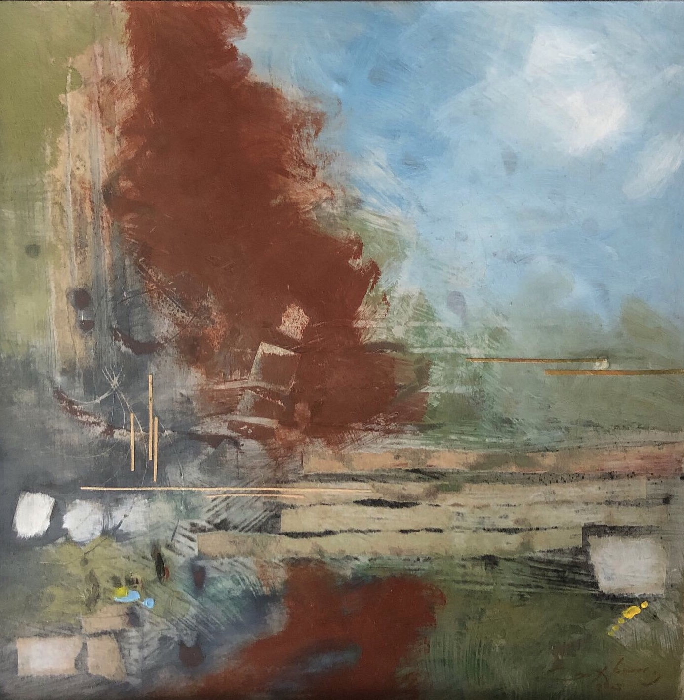 No One Lives Here Now artwork by David Holcomb - art listed for sale on Artplode