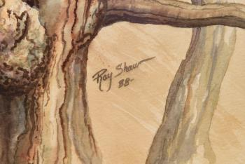 Eagle Eyes artwork by Ray Shaw