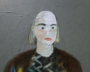 Self Portrait as Artist artwork by Joe McGee