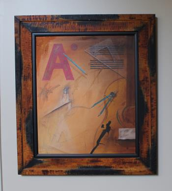 see certificate, art for sale online by Raul Garcia Sangrador