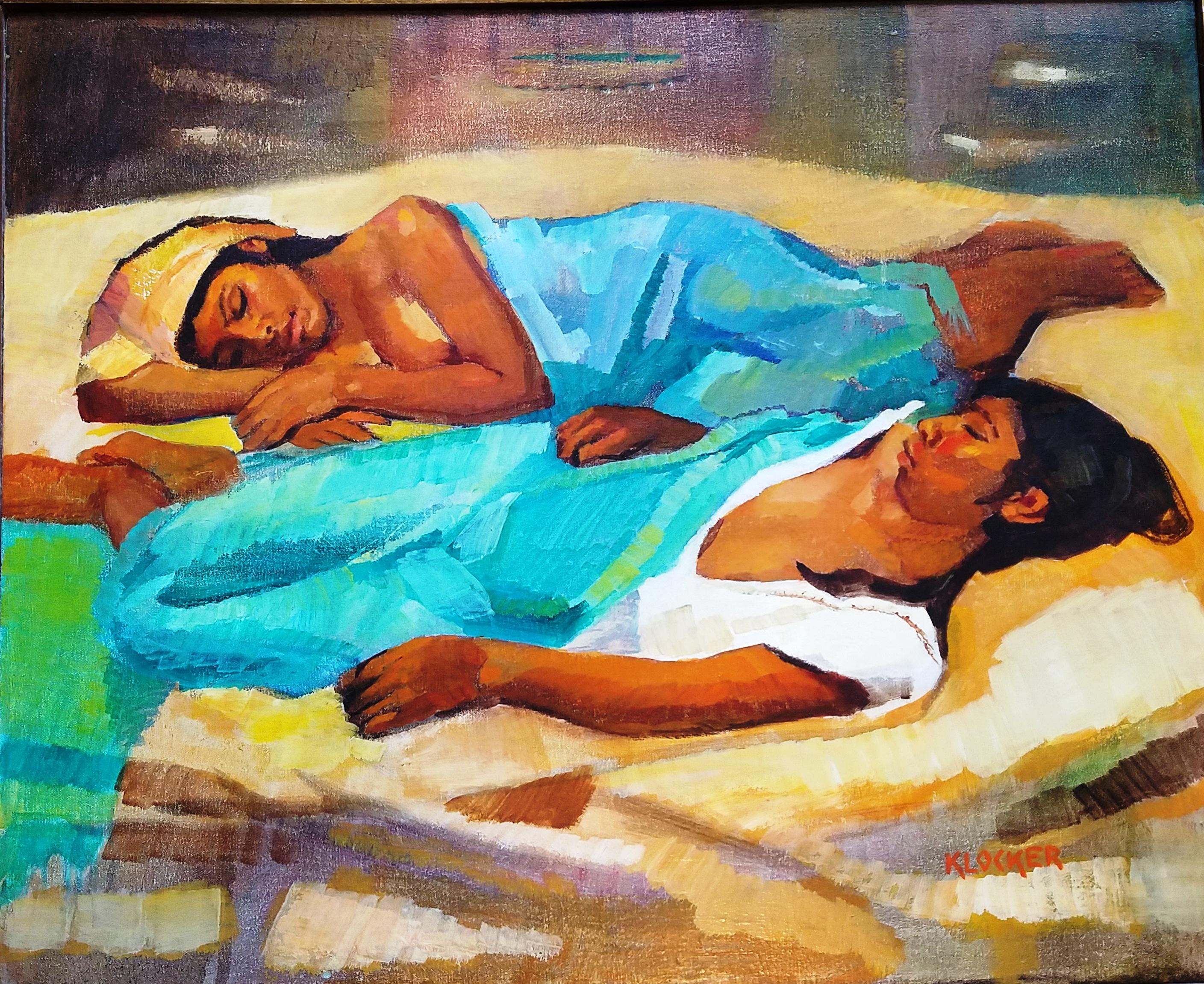 Las Dormidas artwork by Gil Klocker - art listed for sale on Artplode